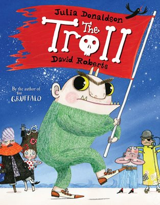 Book cover for The Troll